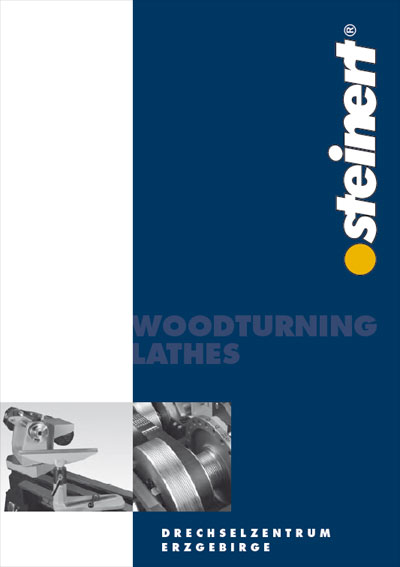 steinert woodturning lathe catalogue - lathe Made in Germany