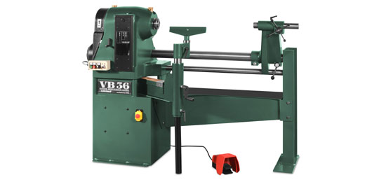 VB36 Master Bowlturner Lathe Long Bed